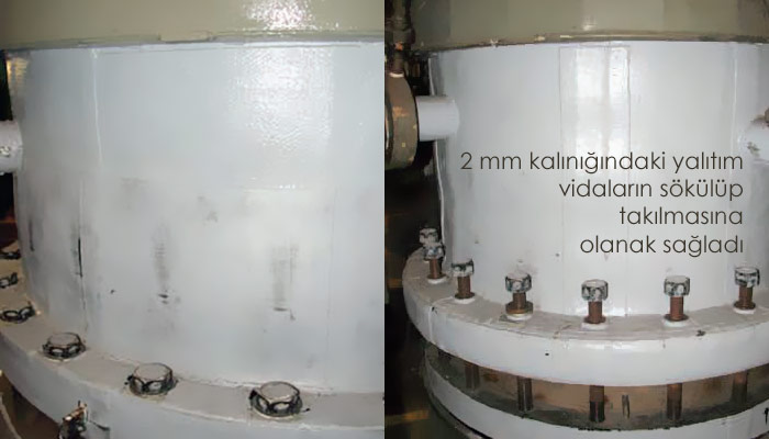 2 mm Kalinligindaki Aerogel Yalitimi Reaktörün Yüzey Sicakligini Yariya Düsürdü